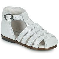 Topánky Dievčatá Sandále Little Mary JULES Strieborná