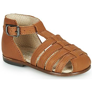 Topánky Dievčatá Sandále Little Mary JULES Hnedá