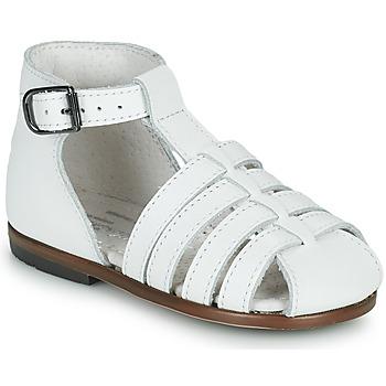 Topánky Dievčatá Sandále Little Mary JULES Biela
