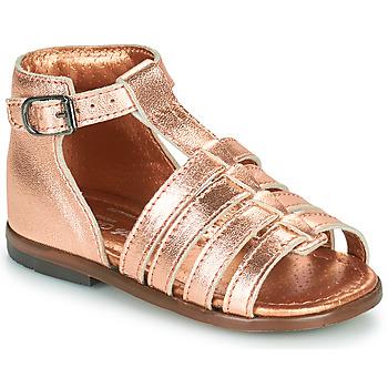 Topánky Dievčatá Sandále Little Mary HOSMOSE Ružová