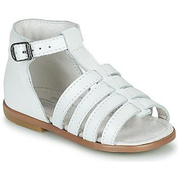 Topánky Dievčatá Sandále Little Mary HOSMOSE Biela