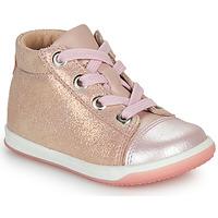Topánky Dievčatá Členkové tenisky Little Mary VITAMINE Ružová