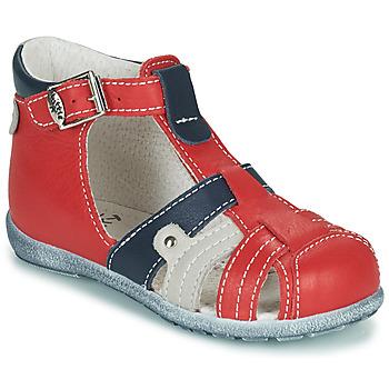 Topánky Chlapci Sandále Little Mary VERCORS Červená