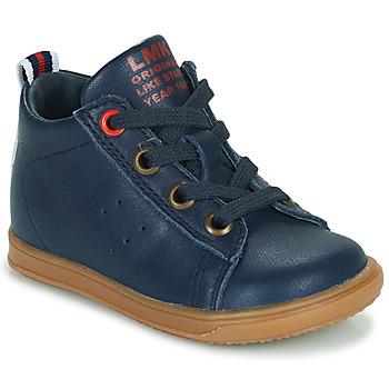 Topánky Chlapci Členkové tenisky Little Mary LEON Modrá