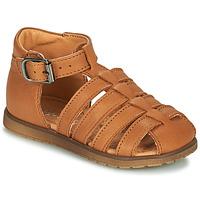 Topánky Chlapci Sandále Little Mary LIXY Hnedá