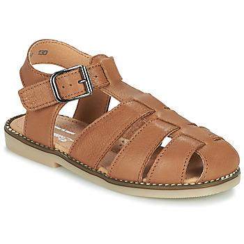 Topánky Chlapci Sandále Little Mary BREHAT Hnedá