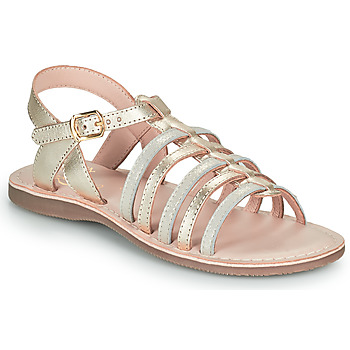 Topánky Dievčatá Sandále Little Mary BARBADE Zlatá