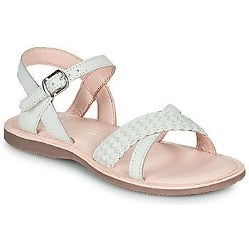 Topánky Dievčatá Sandále Little Mary LIANE Biela