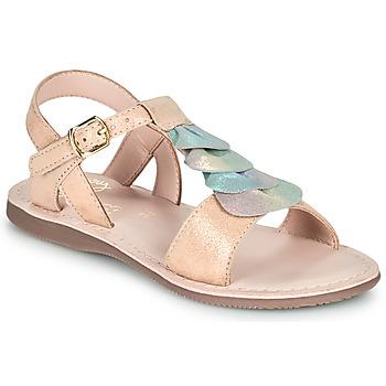 Topánky Dievčatá Sandále Little Mary MARIETTE Zlatá