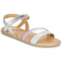 Topánky Dievčatá Sandále Little Mary DOLERON Strieborná