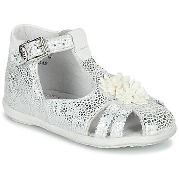 Topánky Dievčatá Sandále Little Mary GLADYS Strieborná
