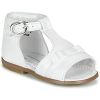 Topánky Dievčatá Sandále Little Mary GAELLE Biela