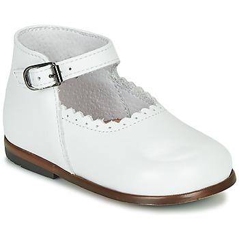 Topánky Dievčatá Sandále Little Mary VOCALISE Biela