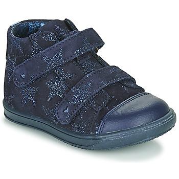 Topánky Dievčatá Členkové tenisky Little Mary ADELINE Námornícka modrá