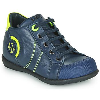 Topánky Chlapci Polokozačky Little Mary FELIX Modrá