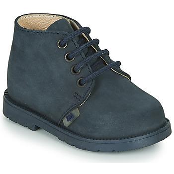 Topánky Chlapci Polokozačky Little Mary GINGO Námornícka modrá