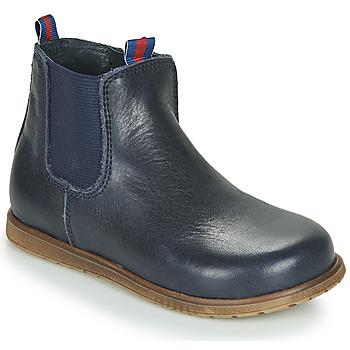 Topánky Chlapci Polokozačky Little Mary JAUFFREY Námornícka modrá