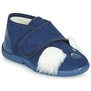 Topánky Deti Papuče Little Mary KOALAVELCRO Modrá