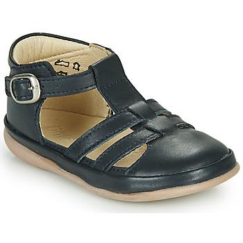 Topánky Deti Sandále Little Mary LAIBA Námornícka modrá