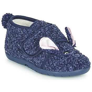 Topánky Deti Papuče Little Mary LAPINVELCRO Modrá