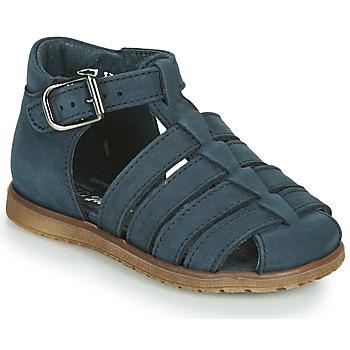 Topánky Deti Sandále Little Mary LIXY Námornícka modrá