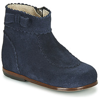 Topánky Dievčatá Polokozačky Little Mary OLISETTE Námornícka modrá