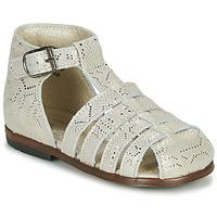 Topánky Dievčatá Sandále Little Mary JULES Zlatá