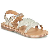Topánky Dievčatá Sandále Little Mary LORETTE Zlatá