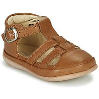 Topánky Deti Sandále Little Mary LAIBA Hnedá