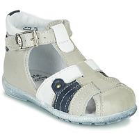Topánky Chlapci Sandále Little Mary VERCORS Šedá