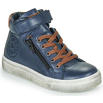 Topánky Chlapci Členkové tenisky Little Mary FIRST Modrá