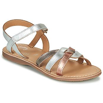 Topánky Dievčatá Sandále Little Mary LIGHT Strieborná / Bronzová / Ružová / Zlatá