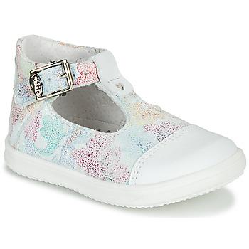 Topánky Dievčatá Sandále Little Mary VALSEUSE Biela / Viacfarebná