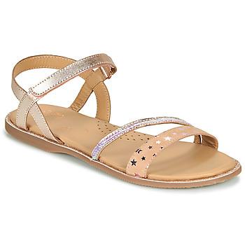 Topánky Dievčatá Sandále Little Mary DOLERON Ružová
