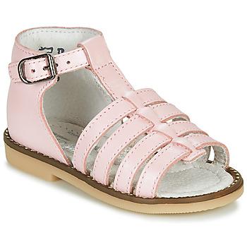 Topánky Dievčatá Sandále Little Mary HOLIDAY Ružová