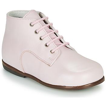Topánky Dievčatá Polokozačky Little Mary MILOTO Ružová