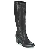 Topánky Ženy Čižmy do mesta Dream in Green KARINA čierna