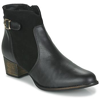 Topánky Ženy Čižmičky So Size SERELLE Čierna