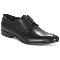 Topánky Muži Derbie Carlington MOMENTA Čierna