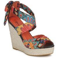 Topánky Ženy Sandále Moony Mood FIRNIL čierna / Viacfarebná