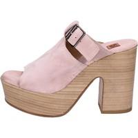 Topánky Ženy Sandále Moma BK100 Ružová