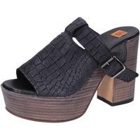 Topánky Ženy Sandále Moma BK101 Čierna