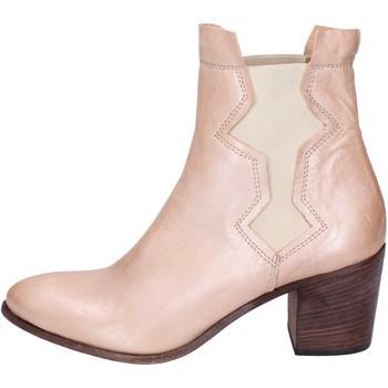 Topánky Ženy Čižmičky Moma BK158 Ružová