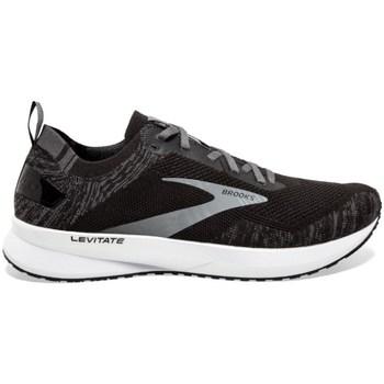 Topánky Muži Bežecká a trailová obuv Brooks Levitate 4 M Čierna