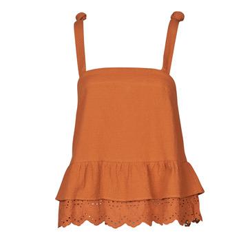 Oblečenie Ženy Blúzky Betty London OULINE Červená hrdzavá