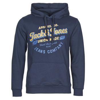 Oblečenie Muži Mikiny Jack & Jones JJEJEANS Námornícka modrá