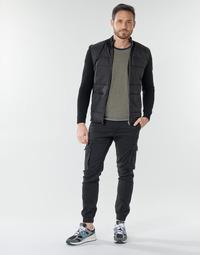 Oblečenie Muži Nohavice Cargo Jack & Jones JJIPAUL Čierna