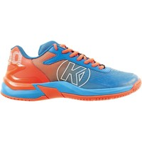 Topánky Chlapci Fitness Kempa Chaussures enfant  Attack 2.0 bleu/rouge fluo