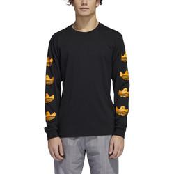 Oblečenie Muži Tričká s dlhým rukávom adidas Originals Ls g shmoo tee Čierna