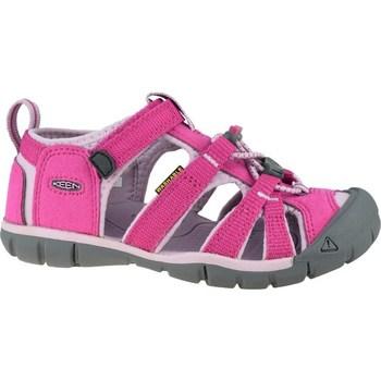 Topánky Deti Športové sandále Keen Seacamp II Cnx JR Sivá, Ružová